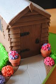 garden shed cake garden shed cakes pinterest cake
