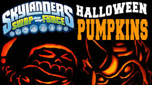 pumpkin pattern wallpaper skylanders swap force halloween pumpkin carving w fryno u0026 roller