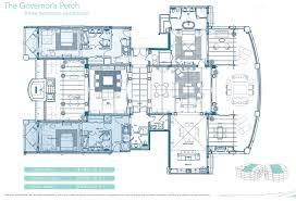 Penthouse Floor Plan by Caribbean Condos With A Ocean View