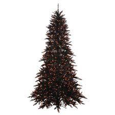 search black artificial tree christmastopia