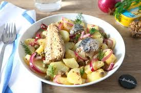 cuisiner des filets de maquereaux assiette nordique aux pommes de terre et maquereaux marinés la