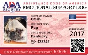 sample letters for emotional support dog service dog registry