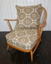 Ercol Armchairs Mick Sheridan Upholstery Ercol Armchair In Melin Tregwynt Wool
