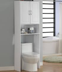 Freestanding Bathroom Storage Units Bathroom Storage Cabinets Toilet From White