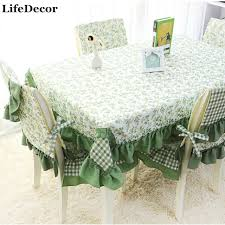 Table And Chair Covers Aliexpress Com Buy Cloth Dining Table Cloth Dining Chair Set