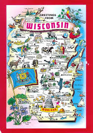 Map Wisconsin Dells by Wisconsin Tourism Map Wisconsin Map