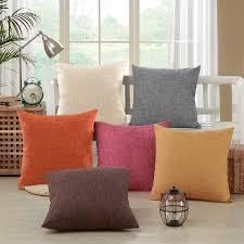 jet de canap coton 12 couleurs solide moderne coton doux canapé lit jet de housse