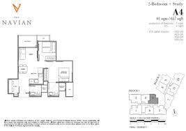floor plan survey the navian floor plans u2013 the navian condo by roxy homes at jalan eunos