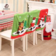 Santa Chair Covers Compare Prices On Christmas Dining Room Chair Cover Online