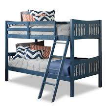 storkcraft caribou bunk bed in navy free shipping 275 00