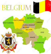 Map Of Belgium And Germany by 812 Germany Map Vector Stock Illustrations Cliparts And Royalty