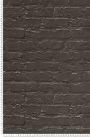 Papier Peint Marron Glace by Mur En Briques Gris Anthracite Papier Peint Authentic De