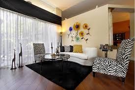 living room zebra living room set brown microfibre sofa cushion