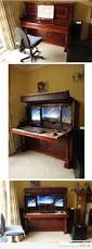 Long Gaming Desk by Best 25 Computer Station Ideas On Pinterest Gaming Station
