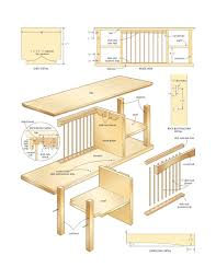 woodworking plans desk better ideas motorized adjustable computer