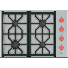 Sealed Burner Gas Cooktop Cg304pswolf Wolf 30
