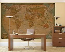 World Map Desk by World Map Atlas Globus Historic World Map Photo Wallpaper