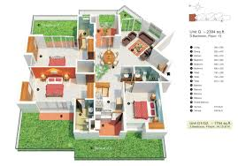 3 bedroom flat plan drawing sq ft house plans indian style floor