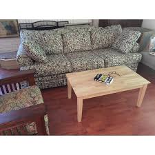 Tall Coffee Table Shaker Unfinished Solid Parawood Tall Coffee Table Free Shipping