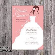 bridal invitation templates best bridal shower invitation templates products on wanelo
