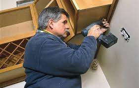 How To Fit Kitchen Cabinets How To Hang Kitchen Cabinets This Old House