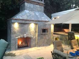 patio ideas backyard fireplace pizza oven this forno rustico 100