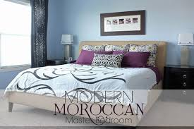 Modern Moroccan Mixing Fabrics To Make A Modern Moroccan Master Bedroom