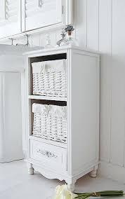 freestanding bathroom cabinet whiteside view of the white