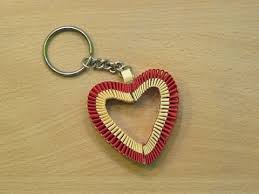 heart gifts how to make a paper heart keychain s day special gifts