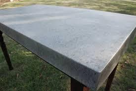 sheet metal coffee table zinc sheet metal wallowaoregon com solid zinc table top