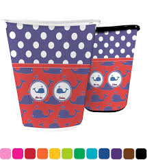 Bedroom Wastebasket Whale Waste Basket Personalized Potty Training Concepts