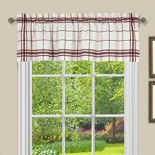 Kitchen Curtains Valance by Buy Red Kitchen Curtains Valances From Bed Bath U0026 Beyond