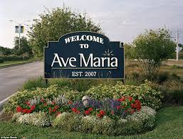 welcome to the promised land of florida inside ave maria