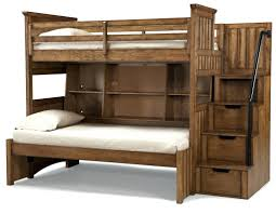 Steps For Bunk Bed Loft Beds Loft Bed Steps Classic Wooden Unfinished Bunk Beds