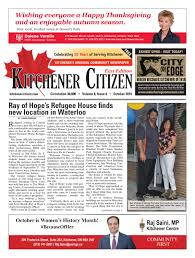 City Of Kitchener Garbage Collection Kitchener Citizen East Edition October 2016 By Kitchener