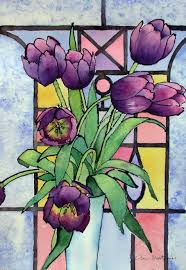 painting on glass windows design stained glass scenery patterns landscape glass painting
