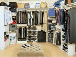 bedroom minimalist interior decoration design for walk in closet