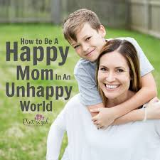 five ways to be a happy mom