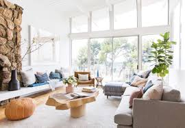 blue livingroom how to add style to a neutral living room emily henderson