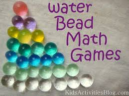 math games water beads water beads math and sorting colors