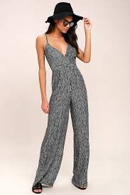black and white jumpsuit cool black and white jumpsuit striped jumpsuit wide leg