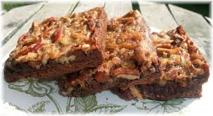 rosie u0027s country baking german chocolate pecan pie bars