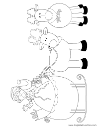 christmas coloring sheets jinglebell junction