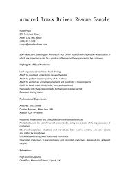 truck driver resume sample sample driver resume unforgettable truck driver resume examples