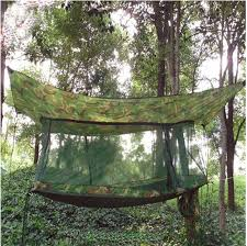 new portable multifunctional sleeping bed hammock tents net