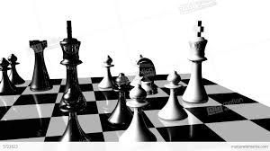 animation of chess set in motion game over stock animation 3722823