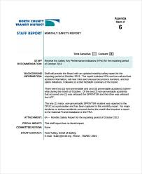 monthly board report template 14 board report templates free