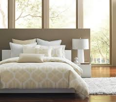 Hotel Bedding Collection Sets Incredible Beds Batters Modern Queen Bed With White Upholstered