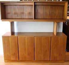 Heywood Wakefield Buffet Credenza by Mid Century Modern Teak Credenza Shelf Unit From Dixie U0027s Scova