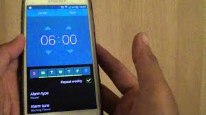 samsung galaxy s5 how to setup alarm clock youtube